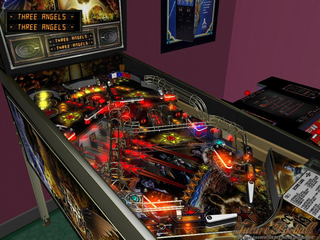 flipper pinball simulations de boules en fer. Black Bedroom Furniture Sets. Home Design Ideas